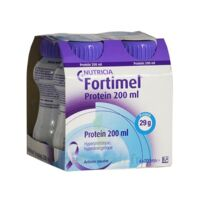 Fortimel Protein Sensation Nutriment Neutre 4 Bouteilles/200ml à IS-SUR-TILLE