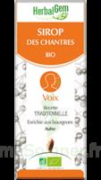 Herbalgem Sirop Bio Des Chantres 150ml à IS-SUR-TILLE
