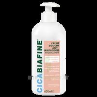 Cicabiafine Crème douche anti-irritations Bouteille Fl pompe/400ml à IS-SUR-TILLE