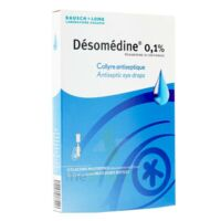 DESOMEDINE 0,1 % Collyre sol 10Fl/0,6ml à IS-SUR-TILLE