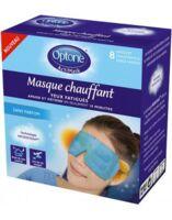 Optone Actimask Masque Chauffant Yeux Sans Parfum 8 Sachets/1 à IS-SUR-TILLE