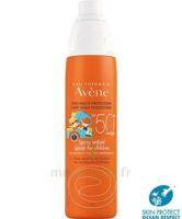 Avène Eau Thermale Solaire Spray Enfant 50+ 200ml à IS-SUR-TILLE
