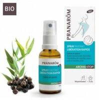 Pranarom Aromastop Spray instant libération rapide Fl/15ml à IS-SUR-TILLE