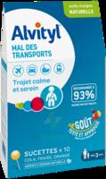 Alvityl Sucette Mal Des Transports B/10 à IS-SUR-TILLE