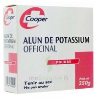 Cooper Alun Potassium Poudre B/250g à IS-SUR-TILLE