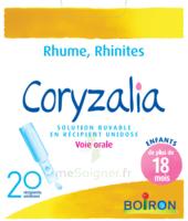 Boiron Coryzalia Solution Buvable Unidose B/20 à IS-SUR-TILLE