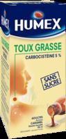 HUMEX 5 % Solution buvable expectorant sans sucre adulte Fl/250ml