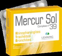 Lehning Mercur Sol Complexe N°39 Comprimés Sublinguals B/60 à IS-SUR-TILLE