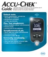 Accu-chek Guide Lecteur De Glycémie Mg/dl (seul) à IS-SUR-TILLE