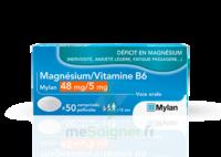 Magnesium/vitamine B6 Mylan 48 Mg/5 Mg, Comprimé Pelliculé à IS-SUR-TILLE