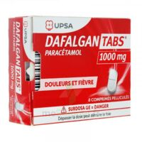 Dafalgantabs 1 G Cpr Pell Plq/8 à IS-SUR-TILLE