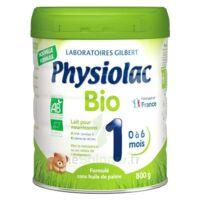 Physiolac Bio 1 Lait En Poudre B/800g à IS-SUR-TILLE